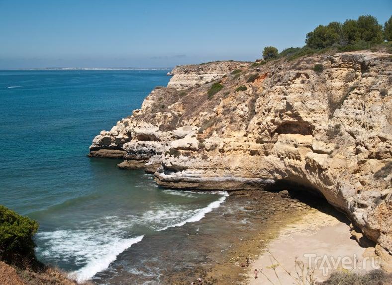 Дикий пляж в Карвуэйру / Фото из Португалии