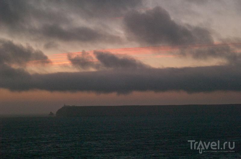 Мыс Сан-Висенти на закате / Фото из Португалии