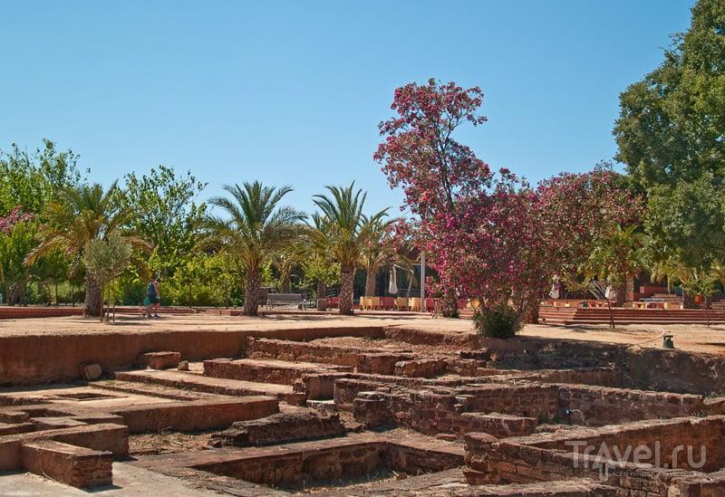 Раскопки внутри крепости Силвеша / Фото из Португалии