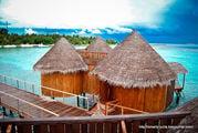 Около пристани / Мальдивы