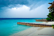 Разделительные волнорезы / Мальдивы