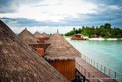 Территория водных бунгало / Мальдивы