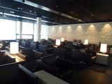 Зона отдыха бизнес-зала SWISS в секторе D / Швейцария