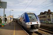 Поезд на платформе / Франция