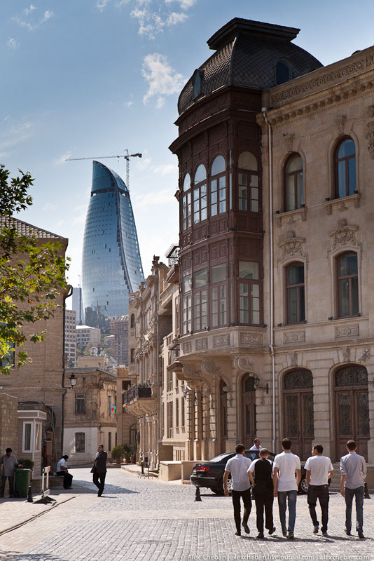 Старый город Баку / Фото из Азербайджана