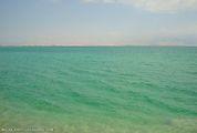 Цвет воды в южной части / Израиль