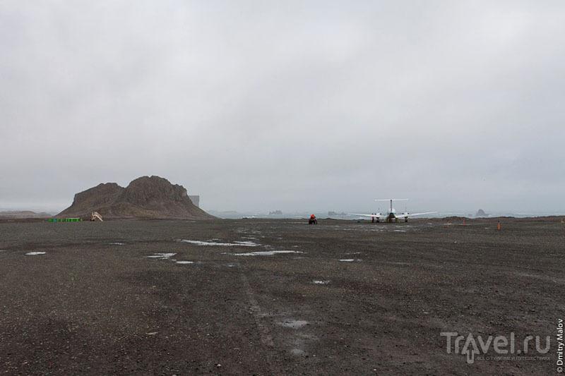 Перрон и вышка в Вилья-лас-Эстрельяс / Фото из Антарктики
