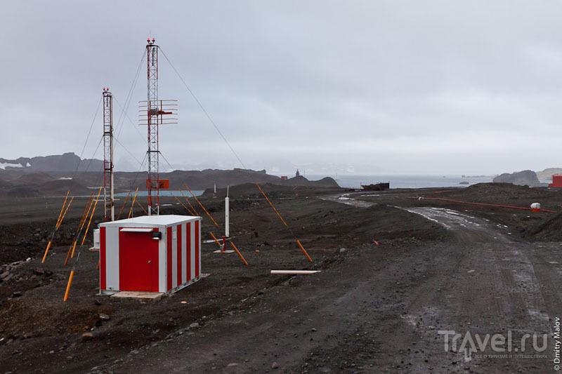 Навигационные системы на аэродроме Вилья-лас-Эстрельяс / Фото из Антарктики