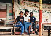 Дети в раcтафарианской школе  / Ямайка