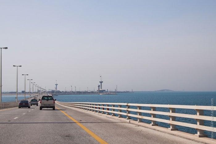 Мост между Бахрейном и Саудовской Аравией / Фото из Бахрейна