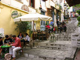Уличное кафе / Греция
