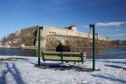 Вид с набережной / Эстония