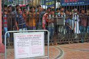Бангладешцы толпятся / Бангладеш