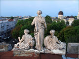 Статуи на крыше / Украина