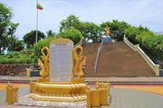 Ступени к памятнику / Мьянма