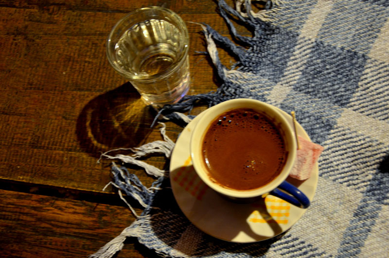 Сербский кофе / Фото из Сербии