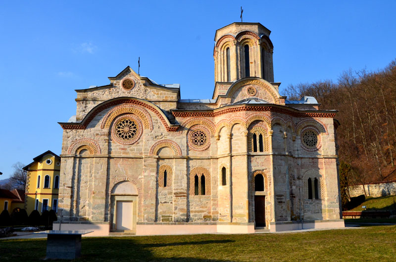 Собор в монастыре Любостыня у города Трстеник, Сербия / Фото из Сербии
