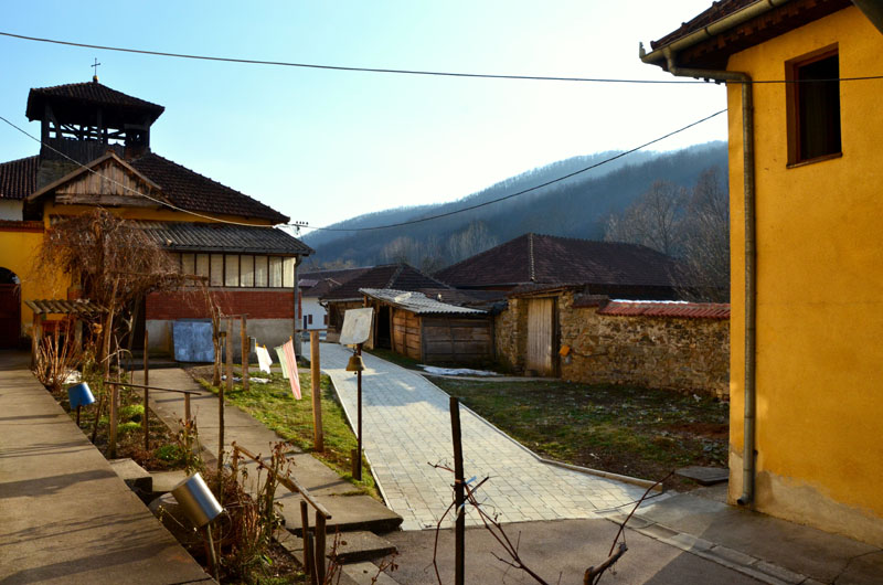 В монастыре Любостыня у города Трстеник, Сербия / Фото из Сербии