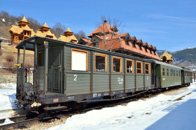 На железнодорожной станции Мокра-Гора, Сербия / Фото из Сербии