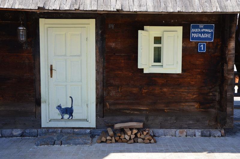 Дом Кустурицы в деревне Кюстендорф, Сербия / Фото из Сербии