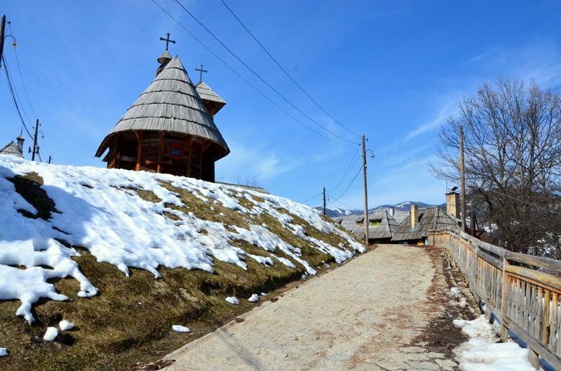 Деревня Кустурицы в Сербии / Фото из Сербии