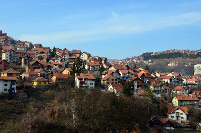 Город Ужице в Сербии / Фото из Сербии
