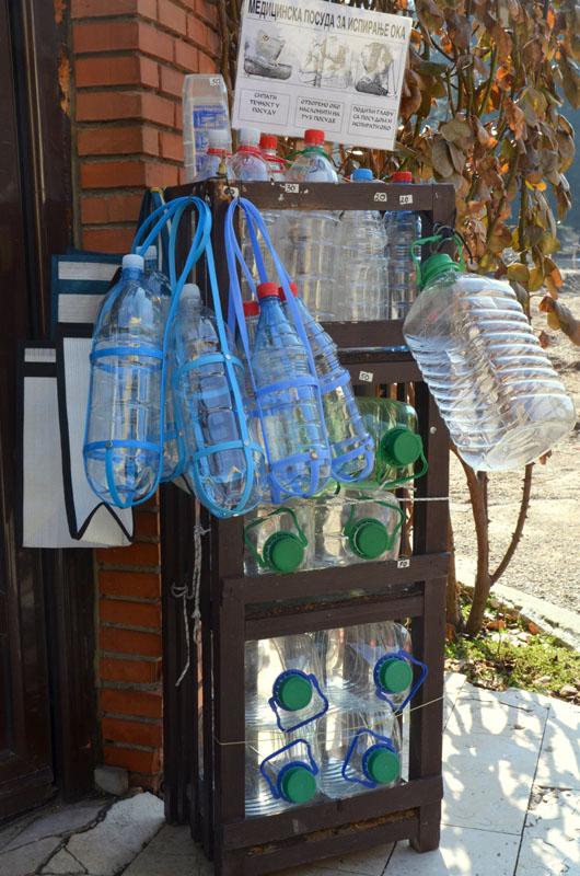 У источника в городе Врнячка-Баня, Сербия / Фото из Сербии
