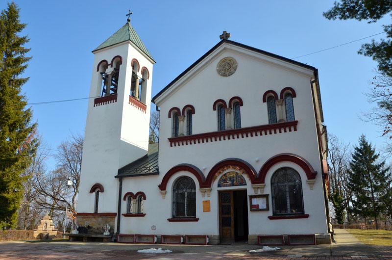 Храм Пресвятой Богородицы в городе Врнячка-Баня, Сербия / Фото из Сербии