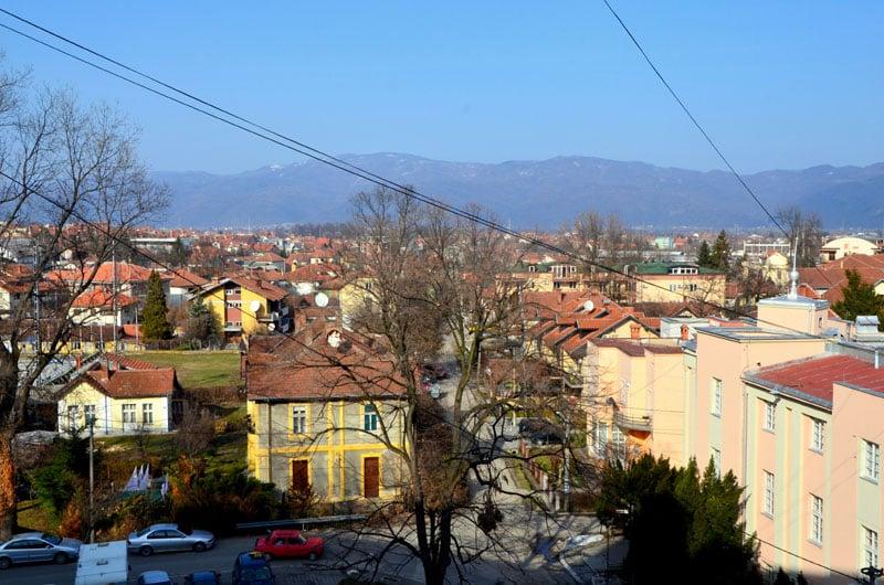 Пейзаж города Врнячка-Баня, Сербия / Фото из Сербии