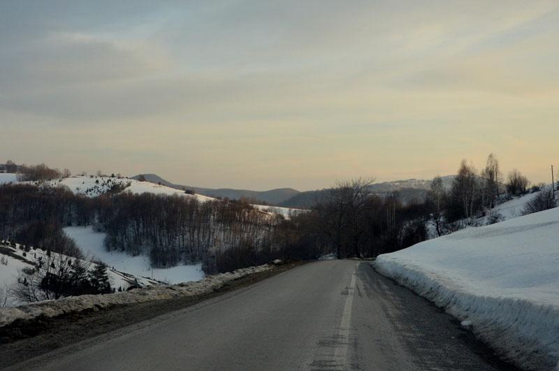 Дорога в Сербии / Фото из Сербии