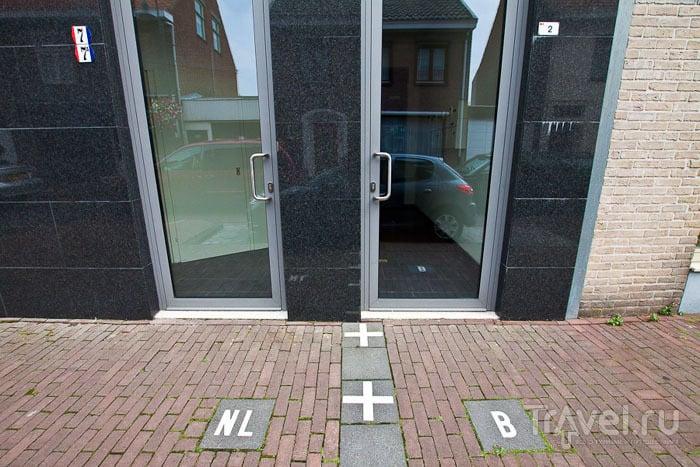 Дом на границе между Бельгией и Нидерландами / Фото из Бельгии