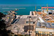 Вид на порт / Италия