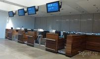 Зона регистрации первого класса Lufthansa / Германия