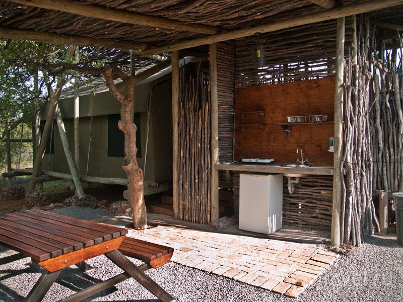 Домик в Etosha Village / Фото из Намибии