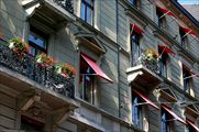 Фасад с окнами / Швейцария