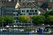Вид с набережной / Швейцария
