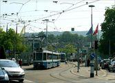 Трамвайная развязка / Швейцария