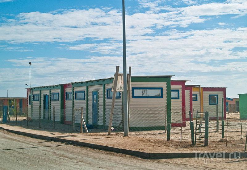 Школа в Мондесе, которую спонсирует Анджелина Джоли / Фото из Намибии