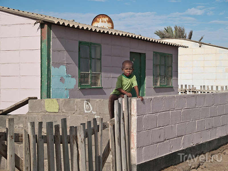 Дети - радость жителей Мондесы / Фото из Намибии