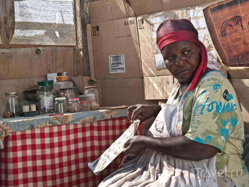 В гостях у специалиста по лечебным травам / Фото из Намибии