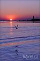 Закатное солнце / Италия