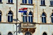 Флаг на балконе / Хорватия