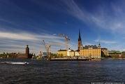 Платформа на воде / Швеция