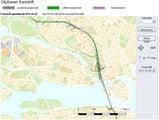 Интерактивная схема линии / Швеция