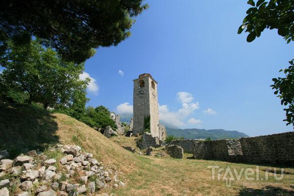 Крепость в городе Бар, Черногория / Фото из Хорватии