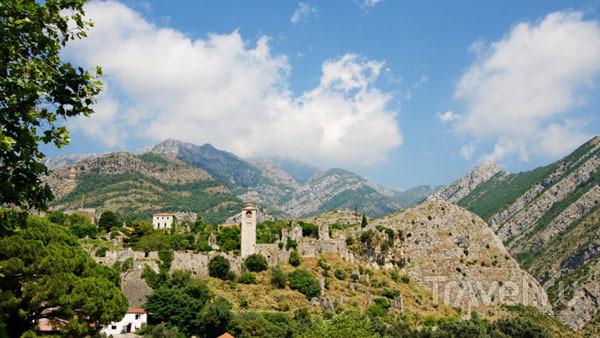 Вид на крепость в Баре / Фото из Хорватии