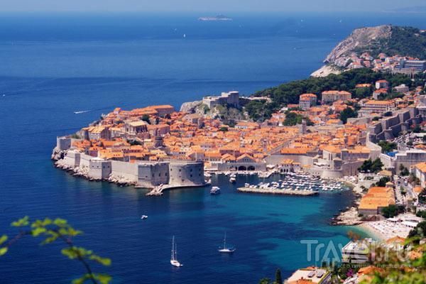 Вид на Дубровник, Хорватия / Фото из Хорватии