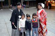 Фото с новобрачными / Япония