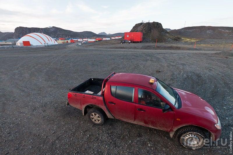 Чилийская база в Антарктиде / Фото из Антарктики