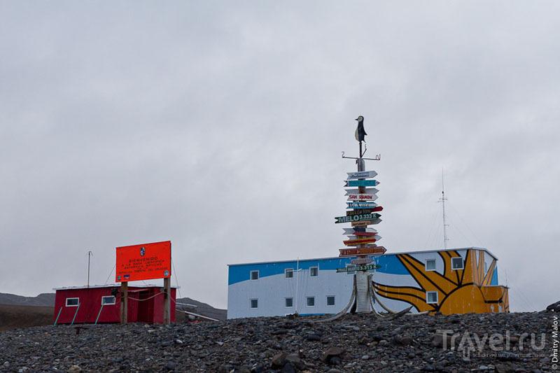 Уругвайская база в Антарктиде / Фото из Антарктики